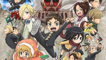 O Spinoff, Attack on Titan: Junior High, ganha adaptação Anime