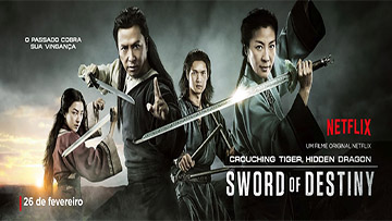 CROUCHING TIGER, HIDDEN DRAGON: SWORD OF DESTINY - Trailer 2 LEGENDADO