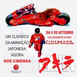 Divulgadas as cidades e cinemas que exibirão Akira