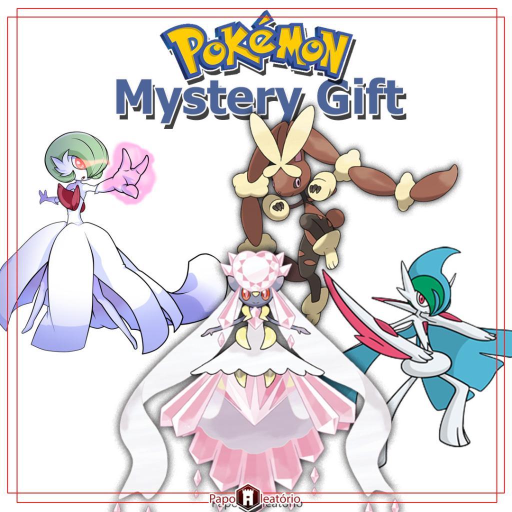 Mega Distribuição de Mega Stones em Pokémon Sun & Moon