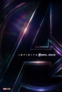 Teaser poster - Vingadores: Guerra Infinita
