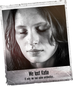 We lost Katia