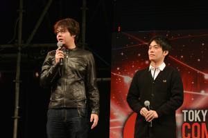 Eiichi Shimizu (esquerda) e Tomohiro Shimoguchi (direita)