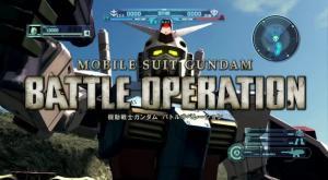 Início das inscrições do Beta test de Gundam Battle Operation 2