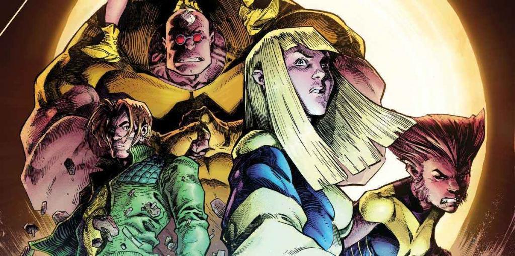 Em Março, Os Novos Mutantes Invadirão as capas do Universo Marvel