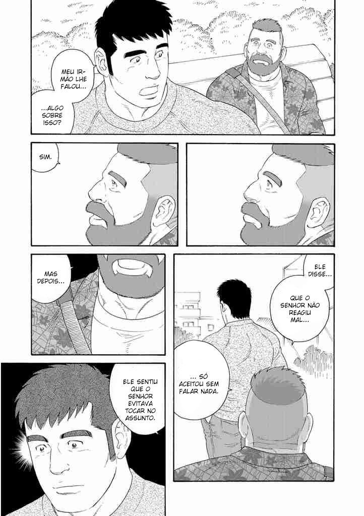Yaichi é visitado por Mike