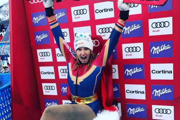 Julia Mancuso - A despedida heroica de Super Jules