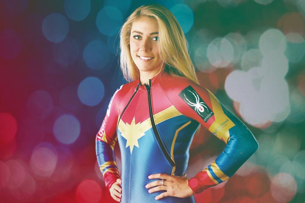 Mikaela Shiffrin é a mais jovem vencedora do slalom, na história das Olimpíadas.