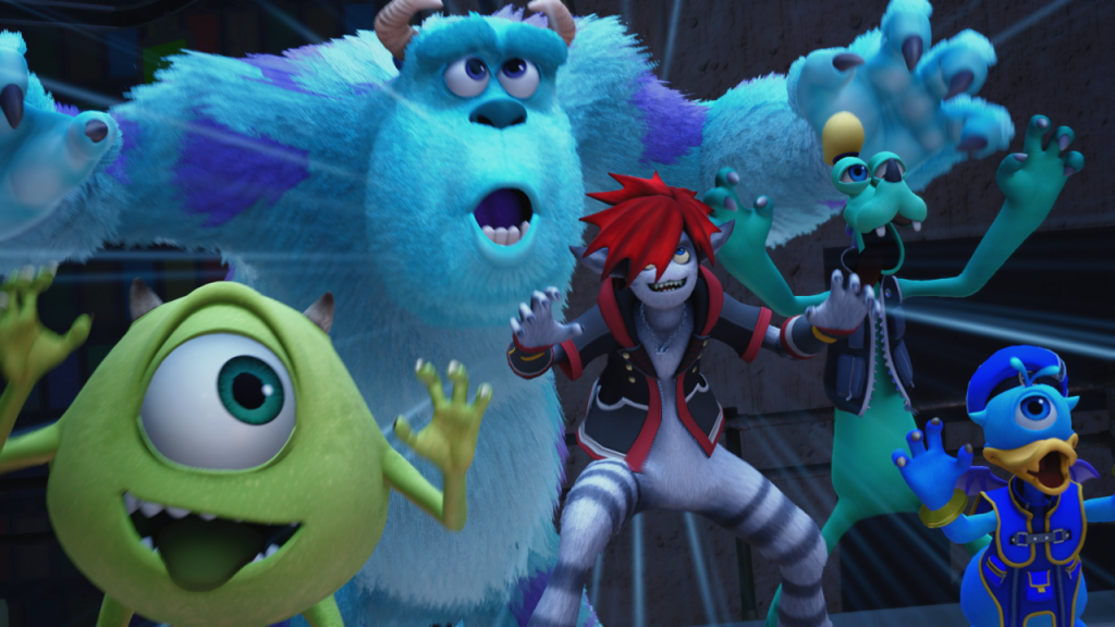Kingdom Hearts III | Novo trailer confirma mundo de Monstros S.A.
