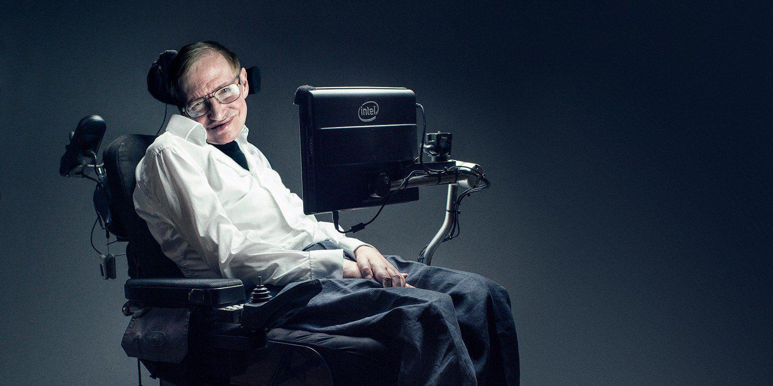 """""""Não importa quanto a vida possa ser ruim, sempre existe algo que você pode fazer, e triunfar. Enquanto há vida, há esperança."""" -Stephen Hawking"""