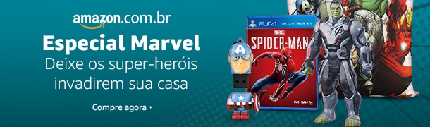 Promoção Marvel na Amazon