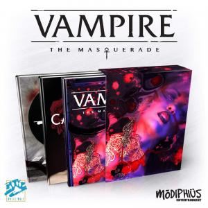 VAMPIRE:THE MASQUERADE 5TH ED. SLIPCASE SET