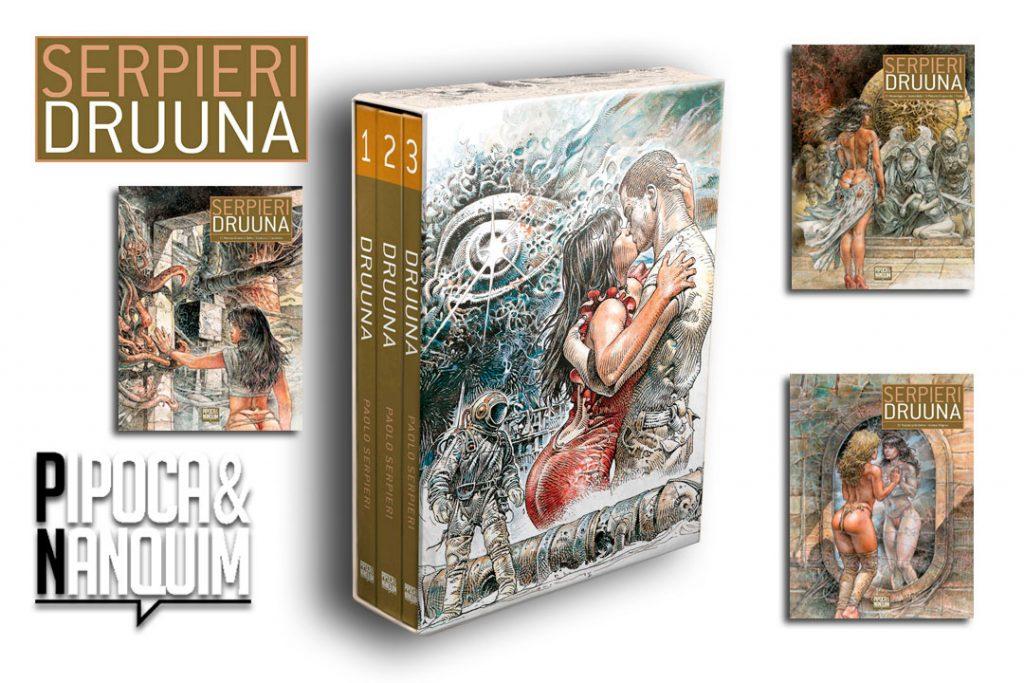 Pipoca & Nanquim lança Druuna - A maior Saga Erótica/Sci-Fi dos Quadrinhos