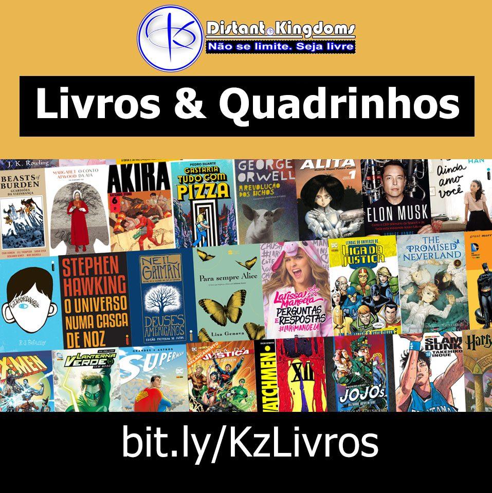 Livros e Quadrinhos na Amazon