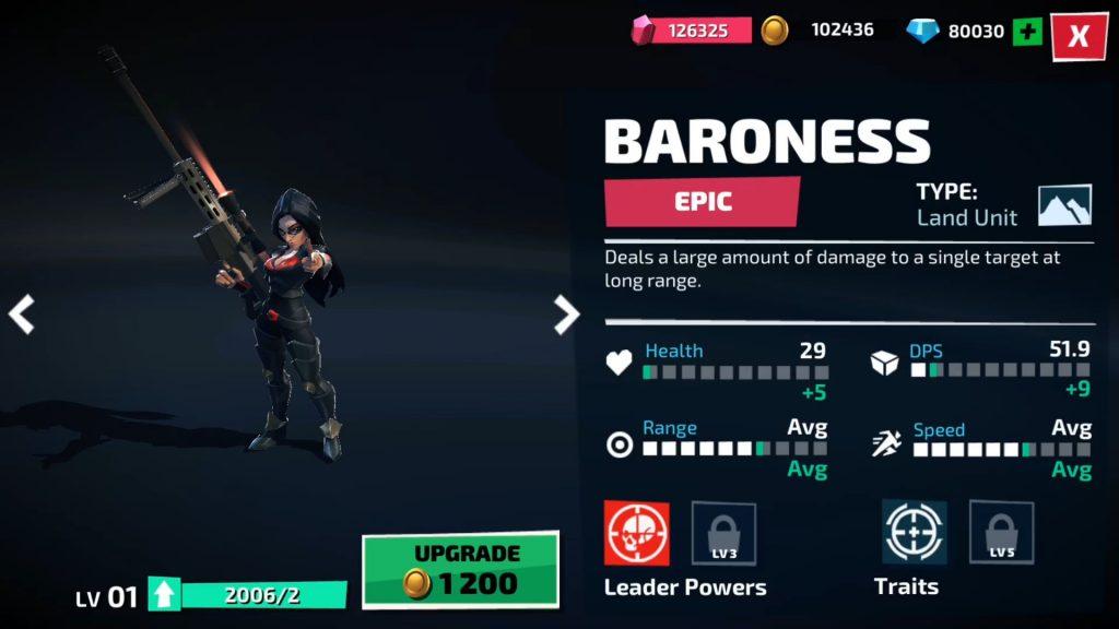 Baronesa - War on Cobra