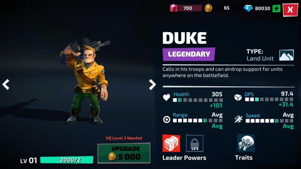 Duke - War on Cobra