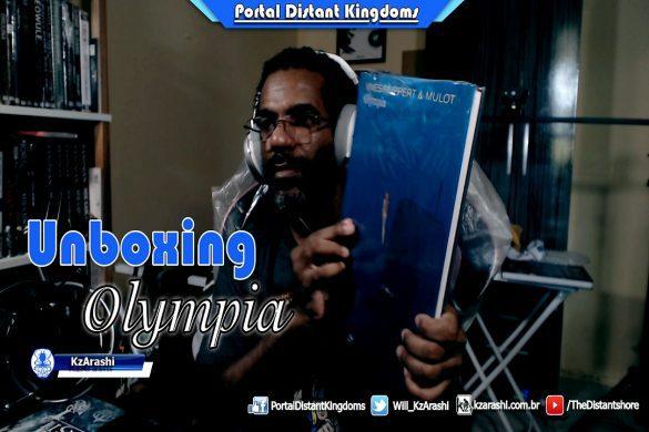 Unboxing Olympia | 1º Lançamento Pipoca & Nanquim 2020