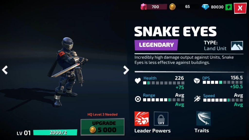 Snake Eyes - War on Cobra