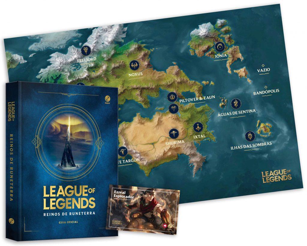 Reinos de Runeterra | Livro comemorativo de 10 anos de League of Legends