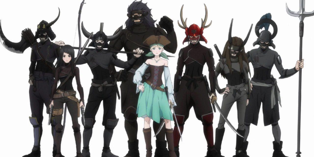 Fena: Pirate Princess - Parceria entre Adult Swim, Crunchyroll e Production I.G