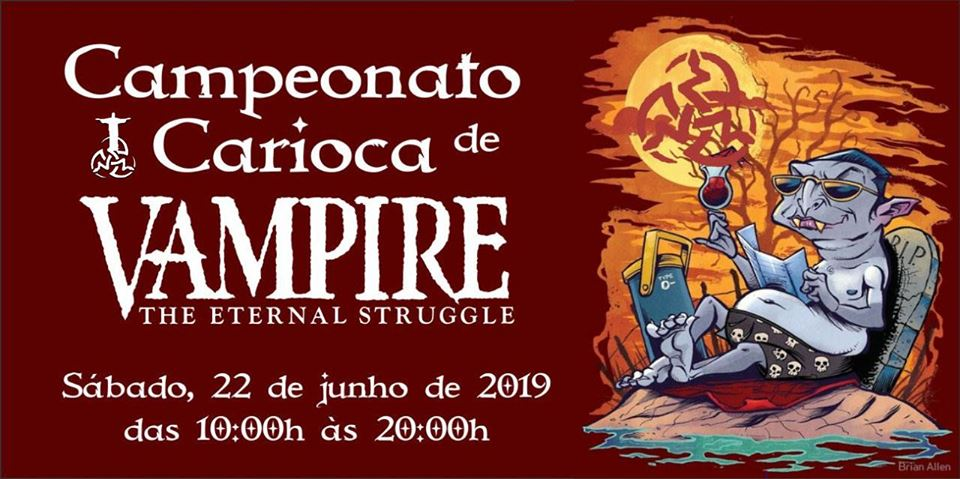 Campeonato Carioca 2019, do Cardgame Vampire: The Eternal Struggle
