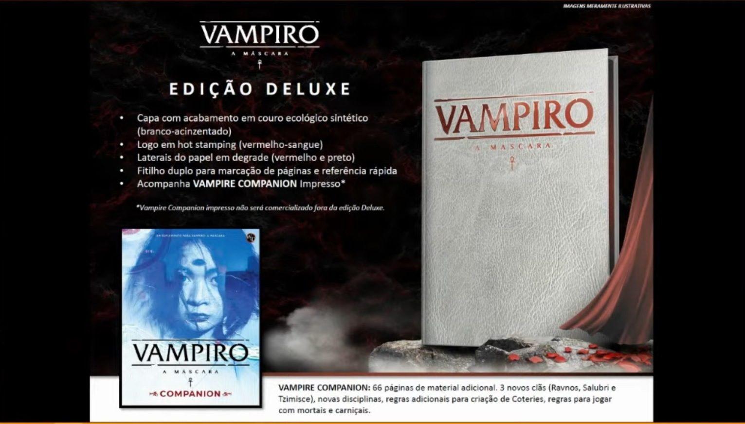 Vampiro: A Mascara Edição Deluxe