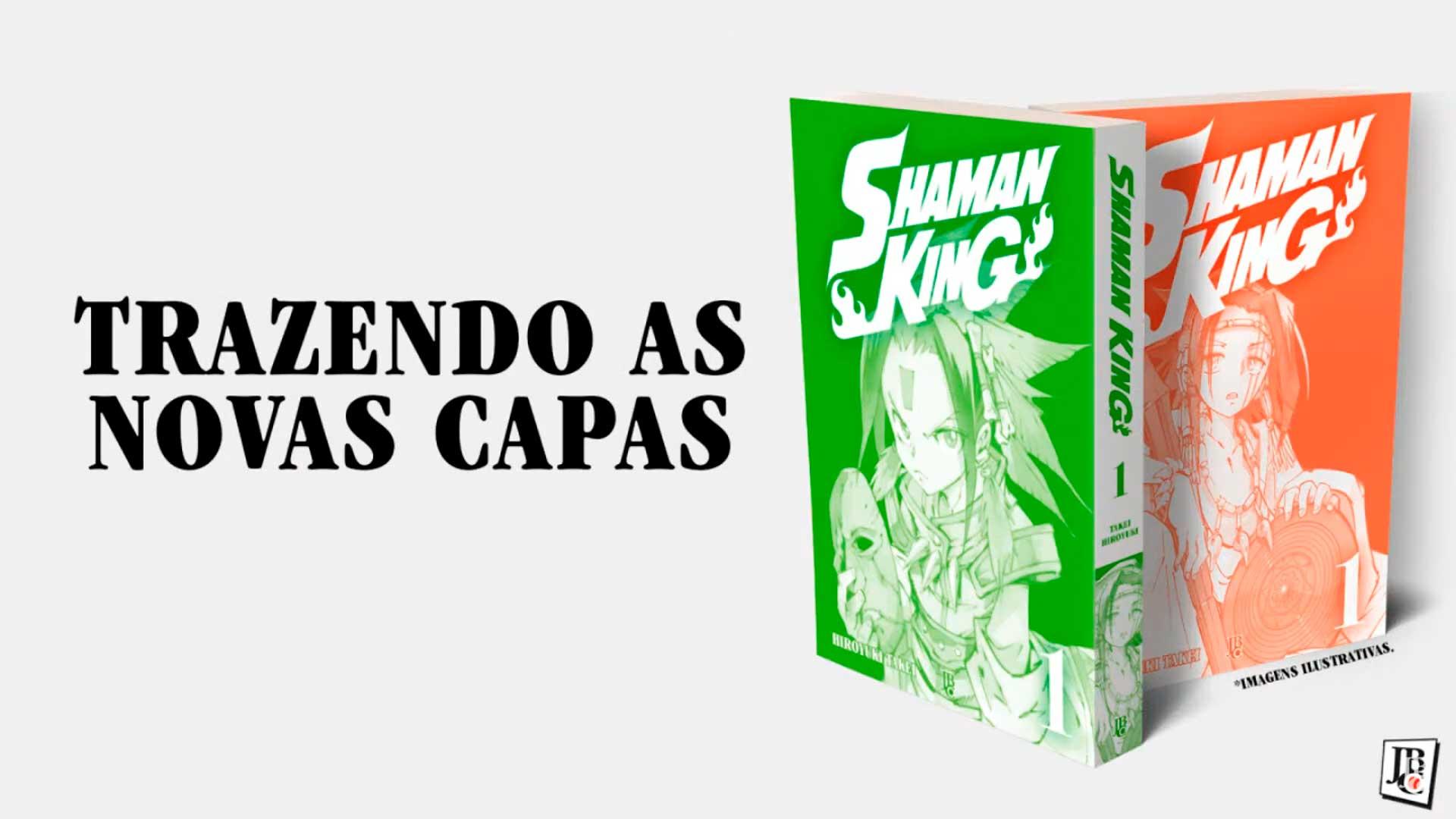 Shaman King Big Vol. 1 - Novas Capas