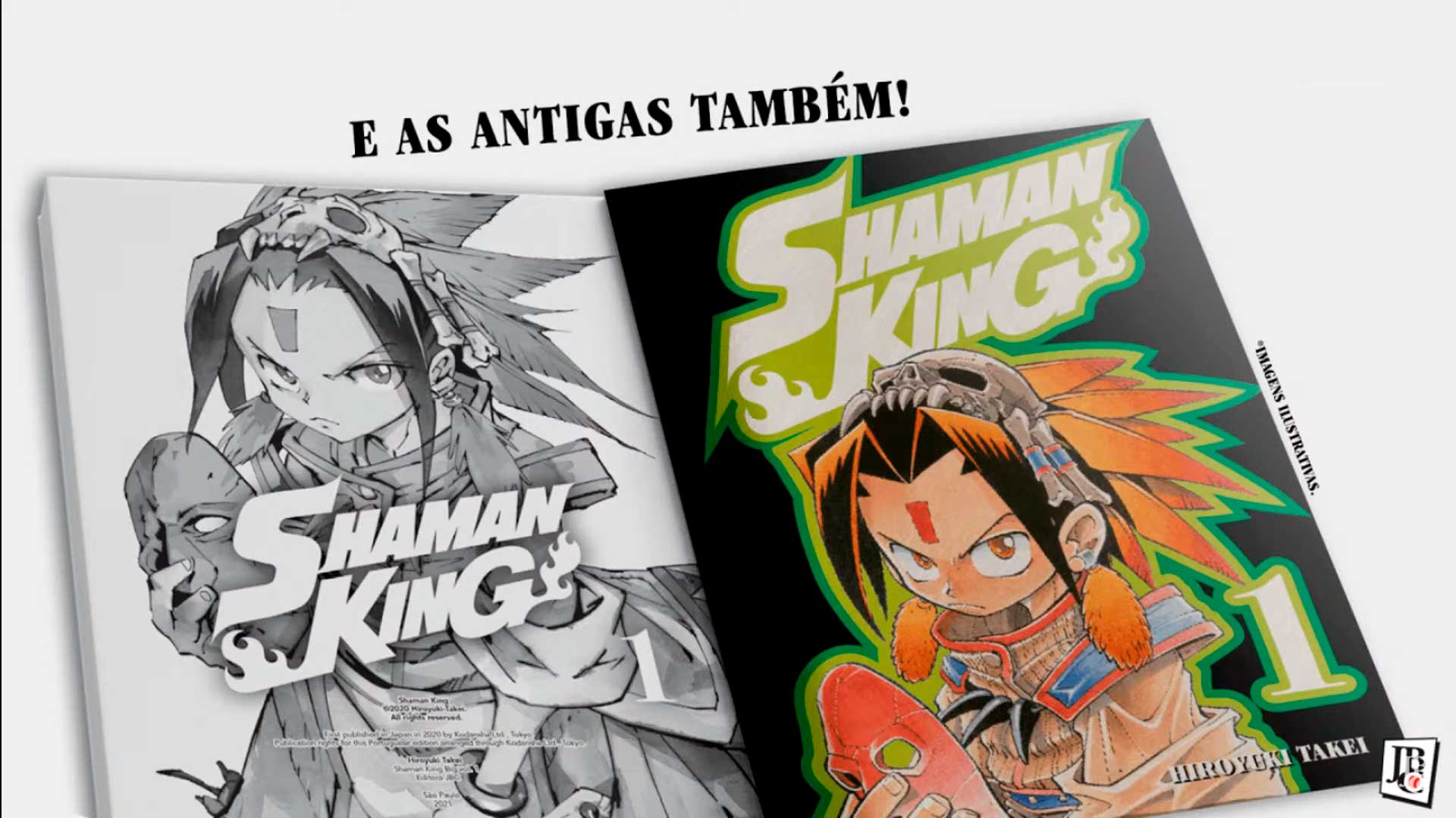Shaman King Big Vol. 1 - Capas antigas