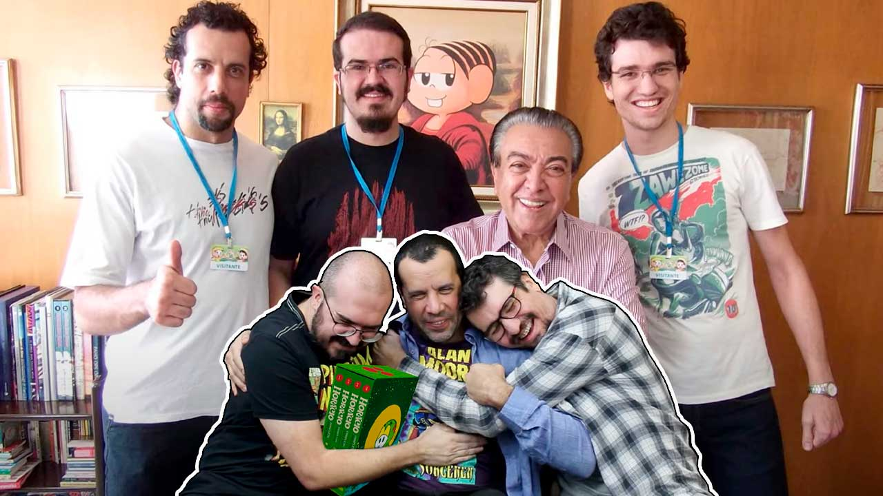 Pipoca & Nanquim e Maurício de Sousa